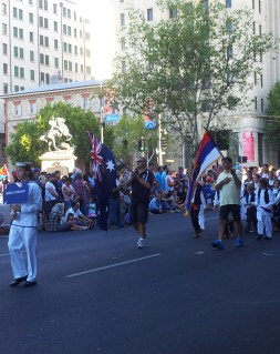The Serbian community