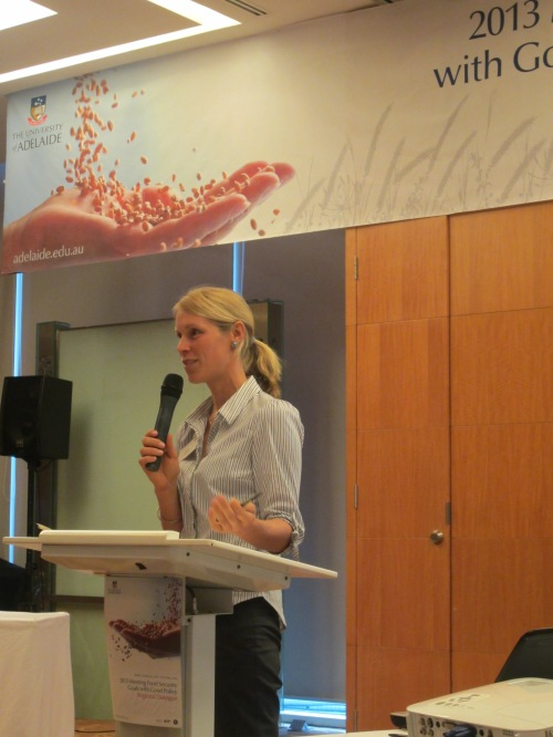 Signe Nelgen (University of Adelaide) to explain about agricultural distortions dataset