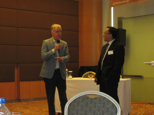 Ronnie Natawidjaja's session was moderated by Randy Stringer (University of Adelaide)