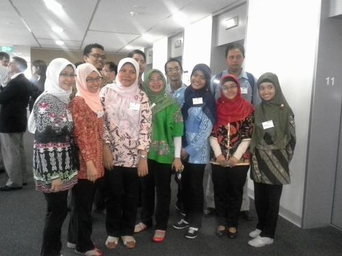 New students from IPB/Indonesian Ministry of Trade