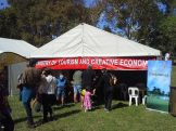 Ministry of Tourism and Creative Economy stall