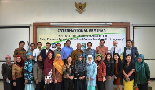 Speakers and Audience of the Seminar
