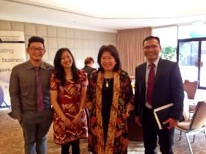 Marvin Lucky - Dian Kurniasari - Dr. Mari Pangestu - Carl Fakaruddin