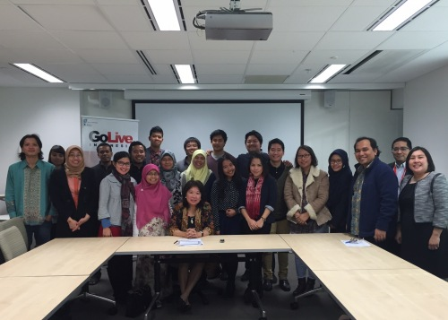 GoLive Indonesia Meet and Greet with Dr. Mari Pangestu, Adelaide, 8 July 2015