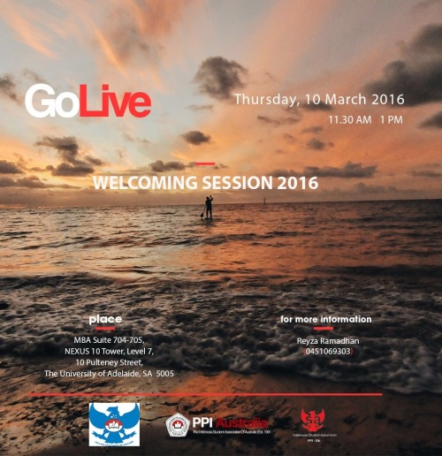 GoLive Welcome MARCH 2016